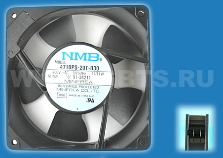 NMB Minebea Fan 200V 50/60HZ 14/11W Replaced by 4710PS-23T-B30