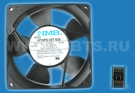 NMB Minebea Fan 220V 50/60HZ 9/8W Replaced by 4710PS-23T-B30-A00