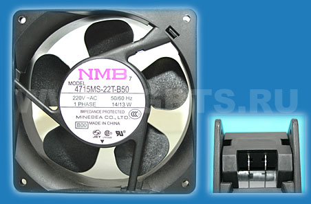 NMB Minebea Fan 220V 50/60Hz 14/13W 1 Phase