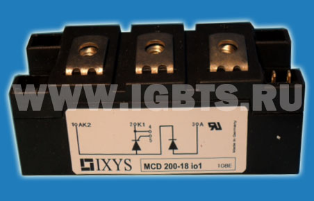 Thyristor Modules Thyristor/Diode Modules 200A 1800V